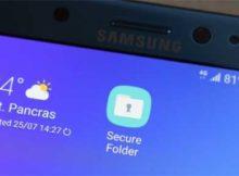 Функция Secure Folder в Galaxy A3, A5 и A7 версий 2017