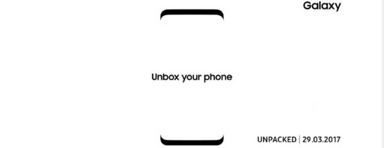 Дата выхода Samsung Galaxy S8 - Galaxy Unpacked
