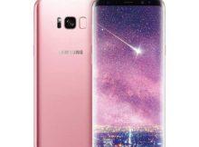 Samsung выпустит Galaxy S8+ розового цвета
