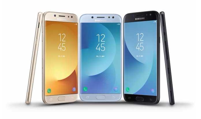 Samsung официально представила Galaxy J3, Galaxy J5 и Galaxy J7 (2017)