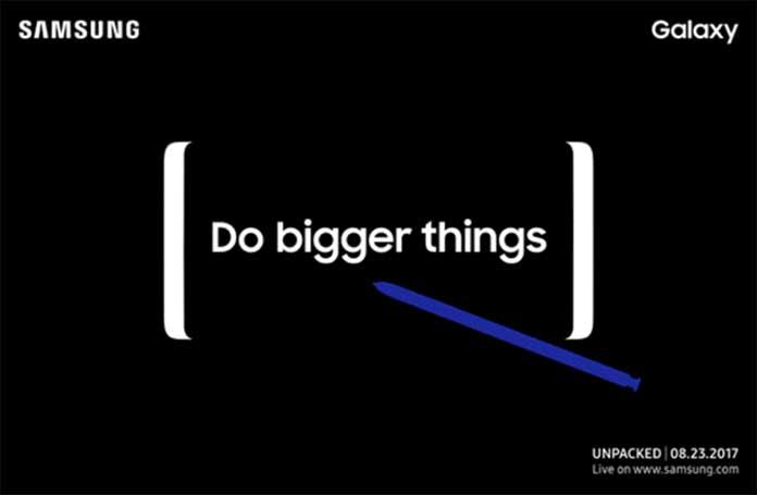 Samsung анонсирует Galaxy Note 8 23 августа в Нью-Йорке
