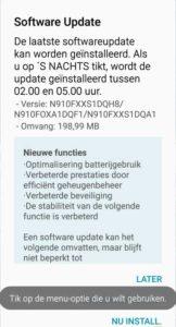 Galaxy Note 4 получает обновление безопасности в августе 2017 года