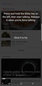 Этапы взаимодействия с Bixby