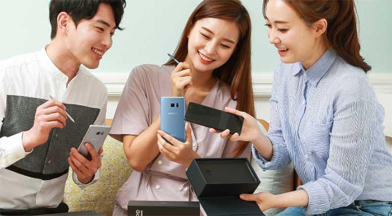 Восстановленный Galaxy Note 7 распродан в Южной Корее
