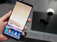 Как сделать скриншот экрана в Galaxy Note 8