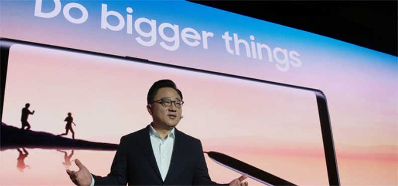 Президент Samsung DJ Koh уверен в успехе Galaxy Note 8