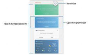 Bixby Home в Galaxy Tab Active 2