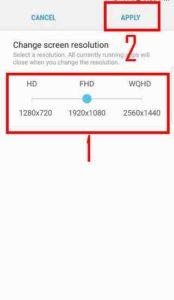 Как изменить разрешение экрана Galaxy S7 и S7 Edge после обновления Android Nougat - 2