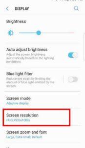 Как изменить разрешение экрана Galaxy S7 и S7 Edge после обновления Android Nougat -1