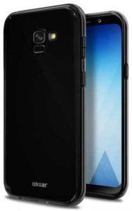 Galaxy A5 2018 Solid Black Case