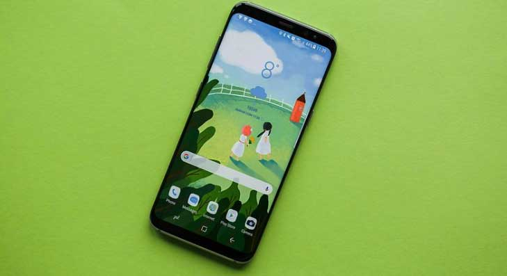 Galaxy S8 предлагает единство стекла и металла
