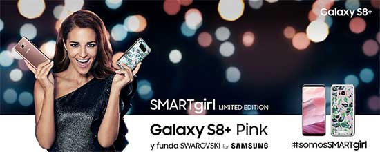 Swarovski SMARTgirl Limited Edition Galaxy S8 +