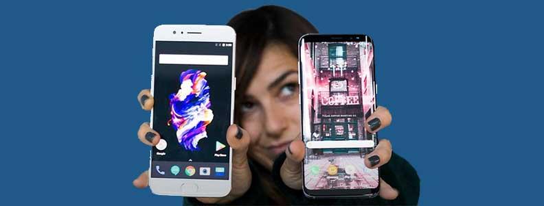 Сравнение OnePlus 5 и Samsung Galaxy S8: что лучше?
