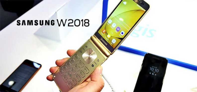 Флипфон-раскладушка Samsung W2018