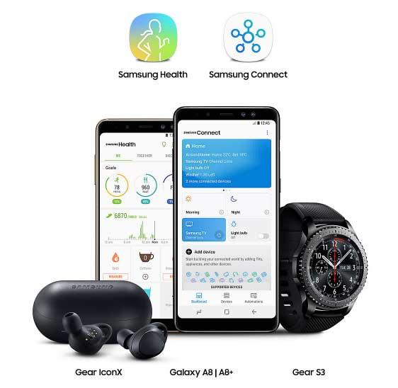 Экосистема Samsung Galaxy A8