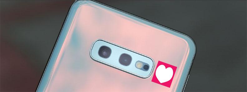В Galaxy S10e отсутствует датчик сердечного ритма