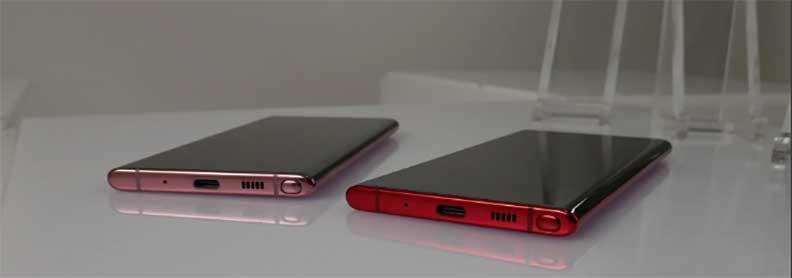 Galaxy Note 10+ заряжается до 100% всего за 1 ч. 5 мин. от ЗУ 25 Вт