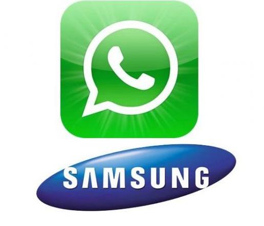 Ватсап на телефон Самсунг